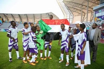 ابطال السودان يفوزون ببطولة كاس ج